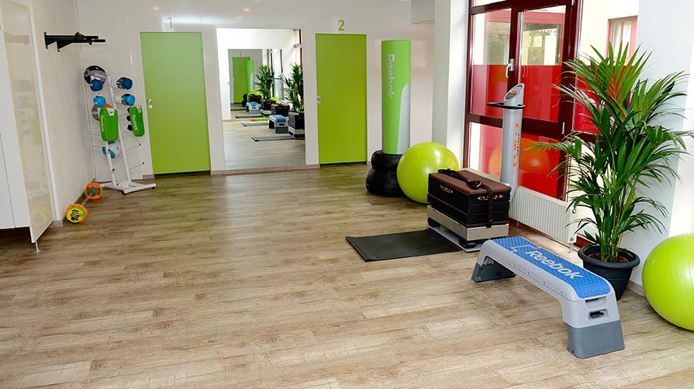Räumlichkeiten Fitnesstraining