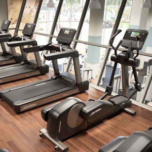 Foto Fitnessstudio erster Stock